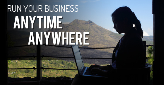 Snipesoft's E-Commerce solutions allow you to run your business anytime, anywhere