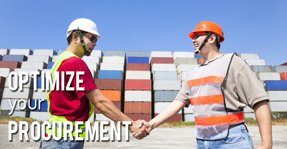 Optimize your procurement